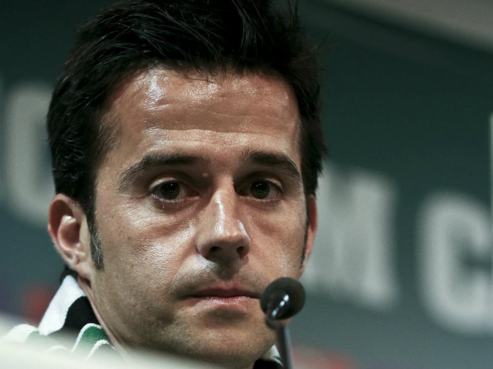 Marco Silva: «Só conseguimos controlar o trabalho do adversário»