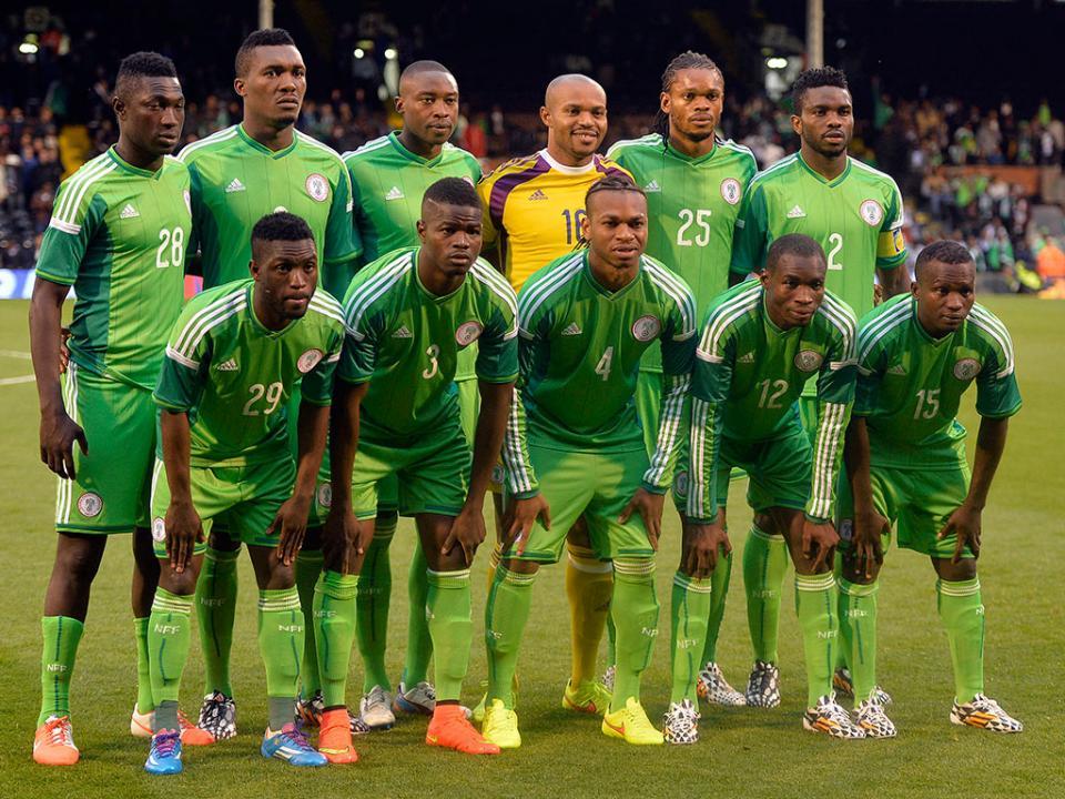 Nigéria quer fazer história entre as seleções de África ... fbe370f4c7320