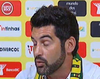 Paulo Fonseca: «Não é um passo atrás»