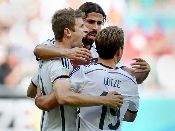 Alemanha-Portugal, 4-0 (destaques)