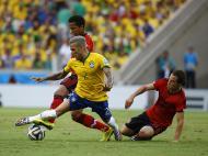 Brasil vs México (REUTERS)