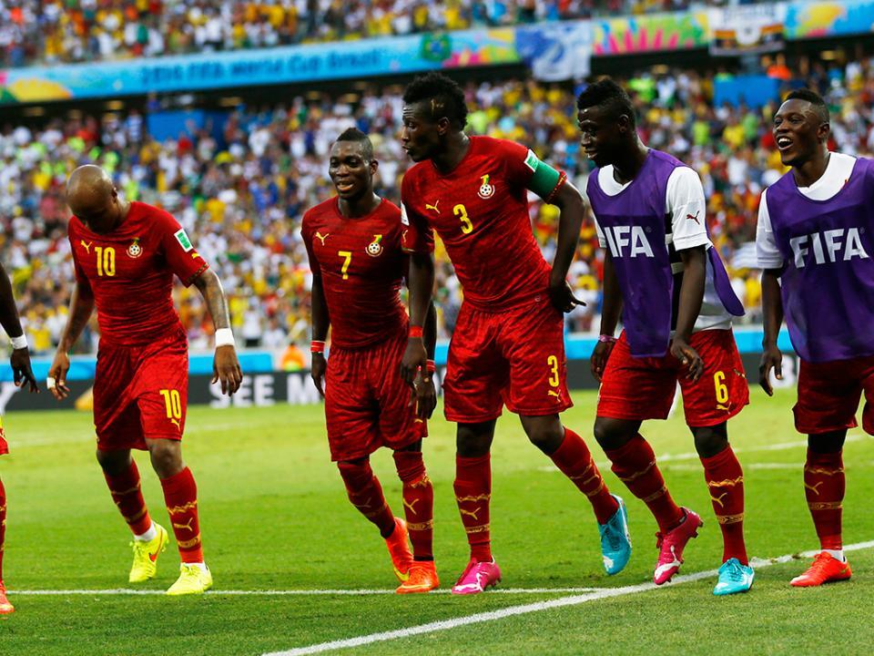 Gana: meia hora a falar de dinheiro num Mundial de futebol
