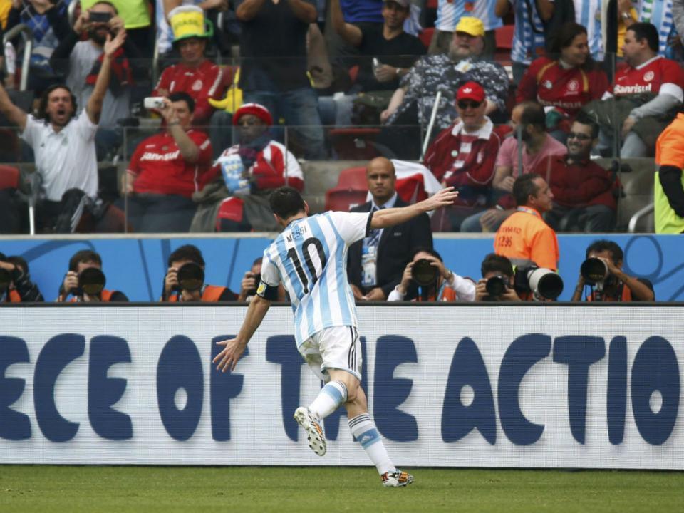 «Que lindo seria ser Messi por cinco segundos»