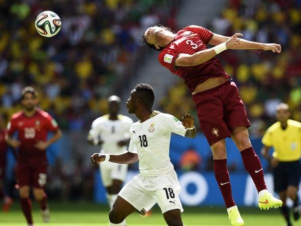 Mundial-2014: Portugal continua longe dos oitavos ao intervalo