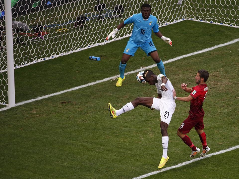 Jogador do Gana desentendeu-se com jornalista francês