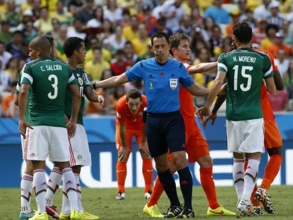 Holanda-México, 2-1 (resultado final)