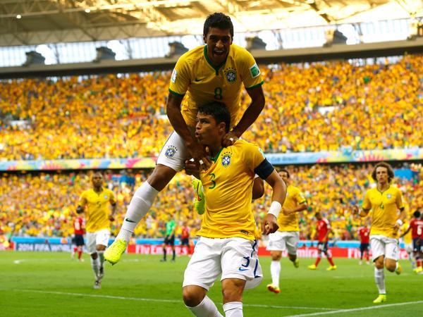 Do lado de cá: no fim ganhou a Alemanha e Brasil emocionalmente fortíssimo