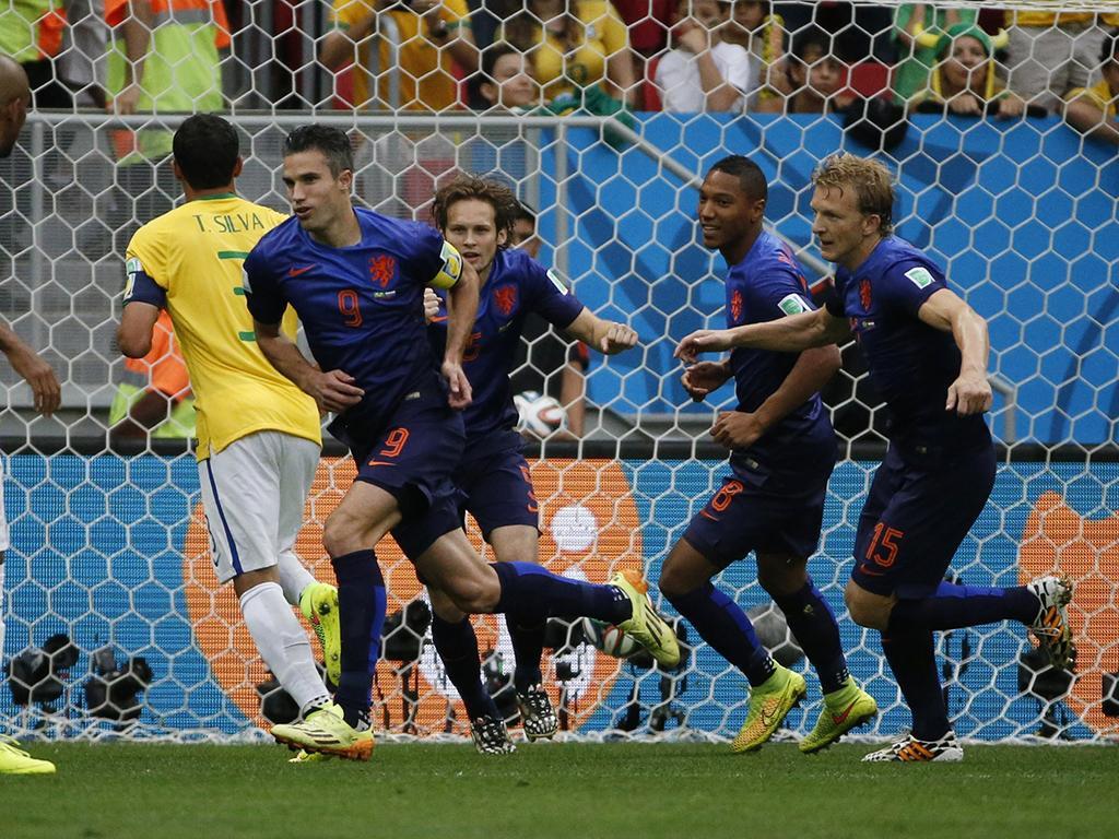 Brasil vs. Holanda (Reuters)