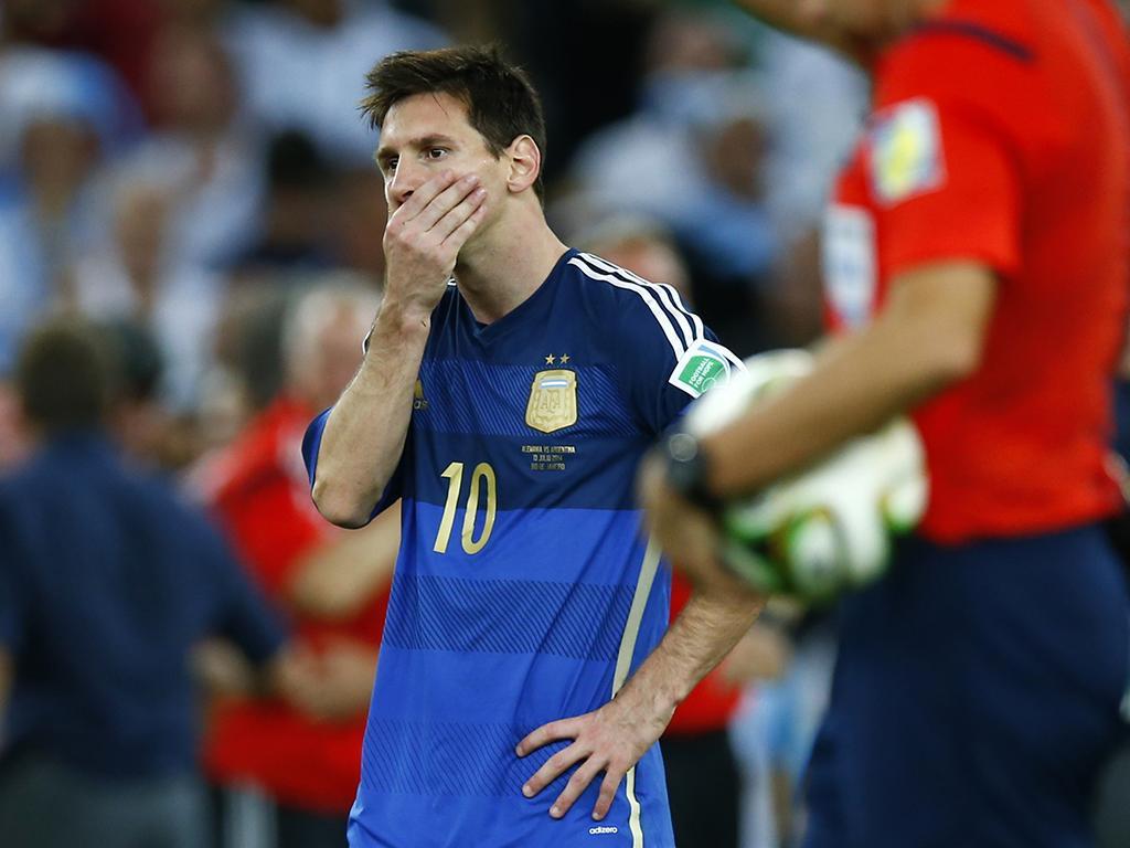 Messi: «Passar ao lado do troféu em 2014 foi terrível»