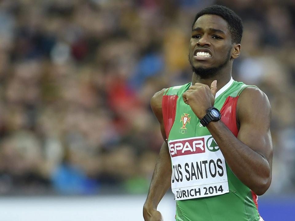 Atletismo: dos Santos renova recorde nacional dos 400 metros