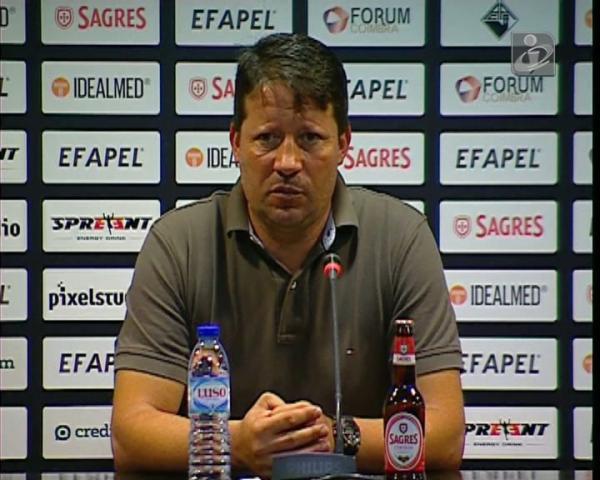 Paulo Sérgio pede uma Académica nos limites para o FC Porto