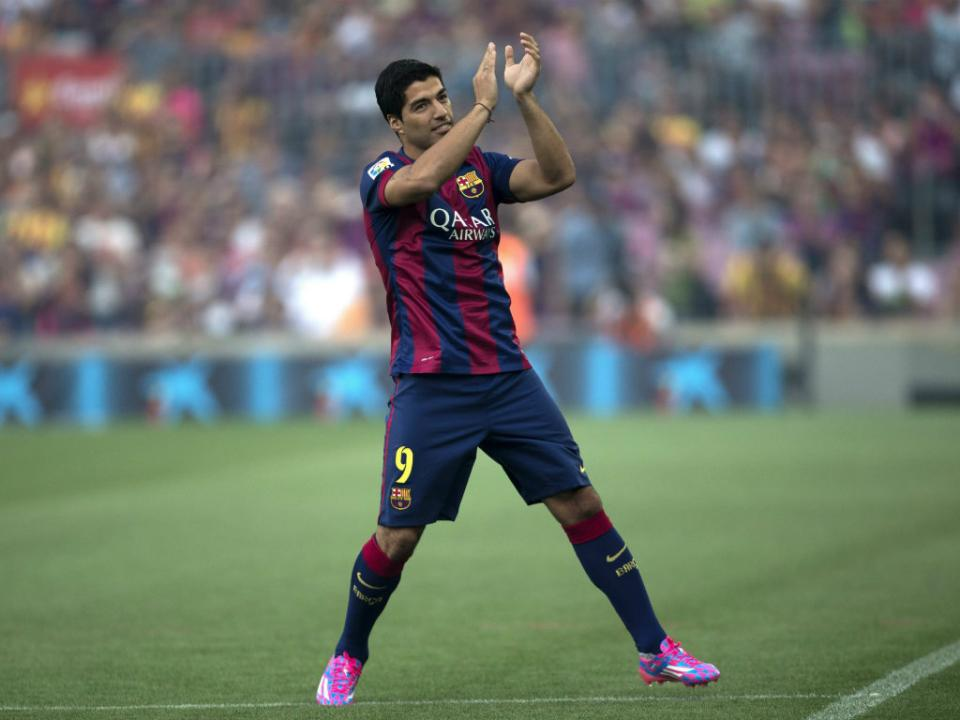 Real-Barcelona (onzes iniciais): Suarez titular no Bernabéu