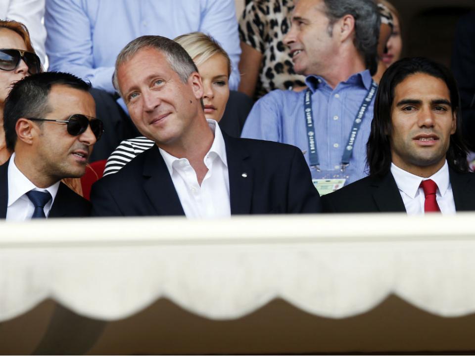 Presidente do Mónaco anuncia saída do vice e pede desculpas a Jardim