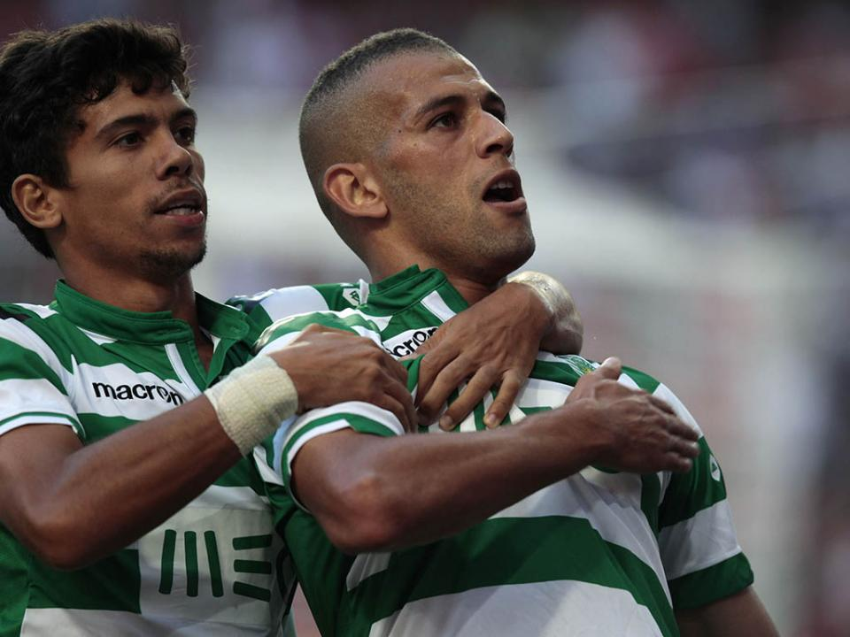 Sporting: Jefferson e Slimani recuperados