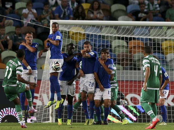 Sporting-Belenenses, 1-1 (resultado final)