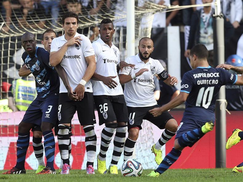 Vitória de Guimarães vs FC Porto (Lusa)