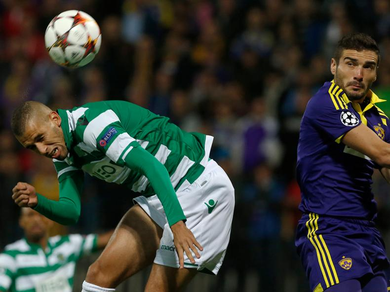 NK Maribor vs FC Sporting (Lusa)
