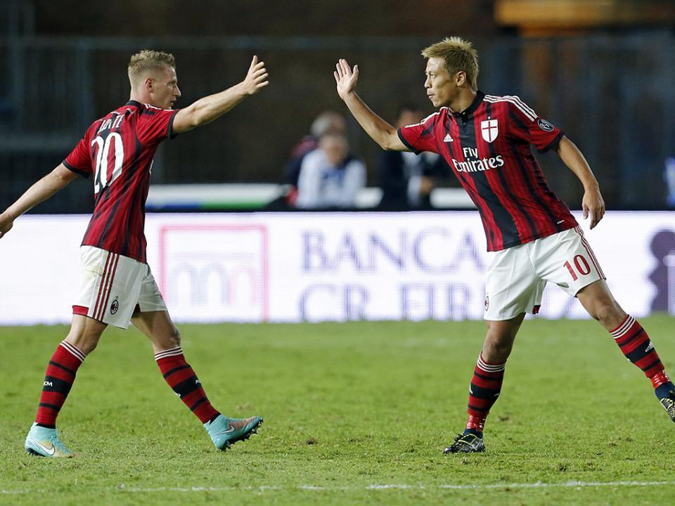 Itália: Milan marca passo