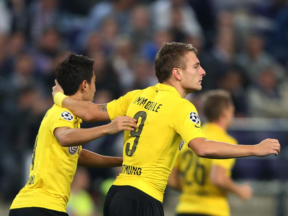 Taça da Alemanha: Dortmund passa em St. Pauli (0-3)