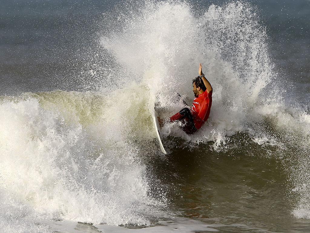 Circuito Mundial De Surf : Surf início da etapa de peniche do circuito mundial
