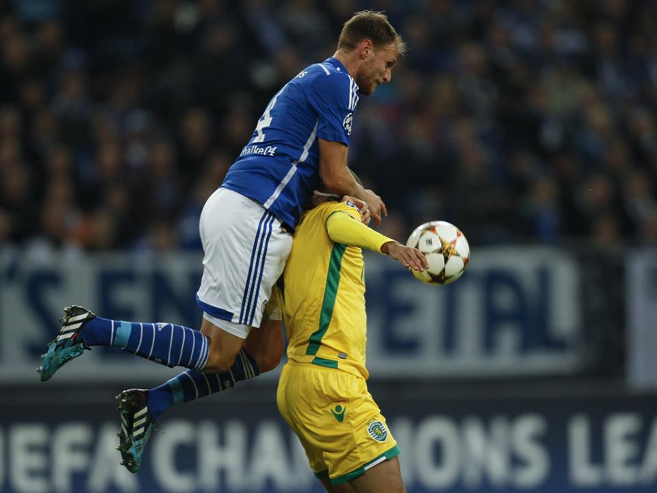 Sporting pediu repetição do jogo ou prémio pelo empate, diz Schalke