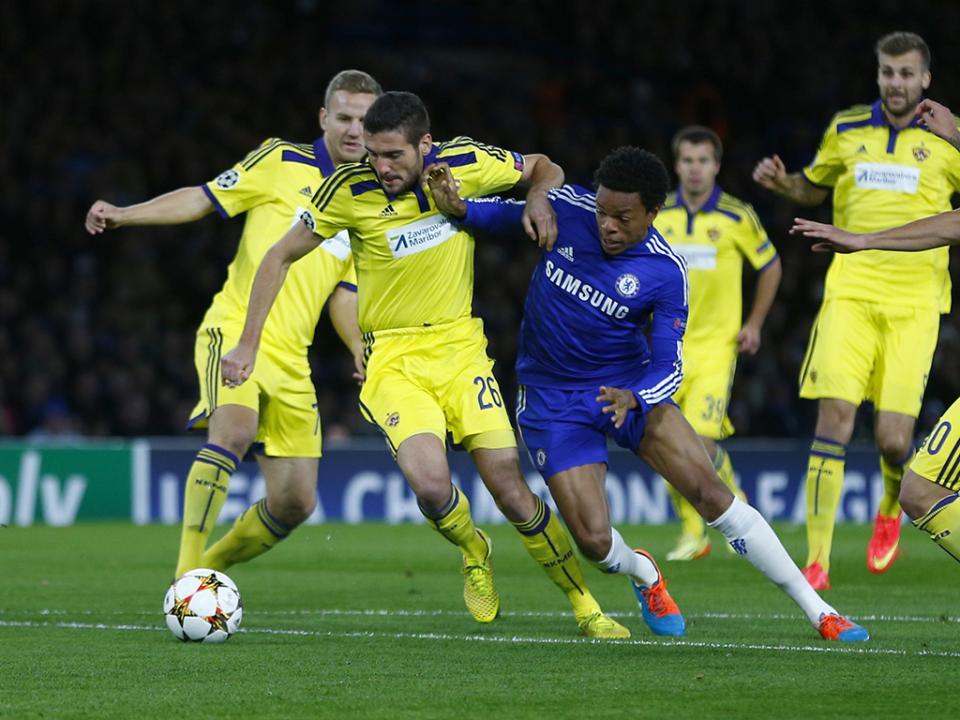 Maribor volta às vitórias, depois de Stamford Bridge