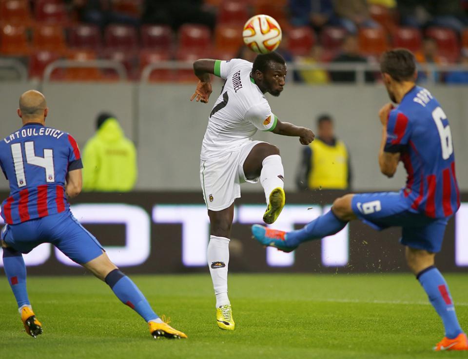 LE: Steaua Bucareste-Rio Ave, 2-1 (resultado final)