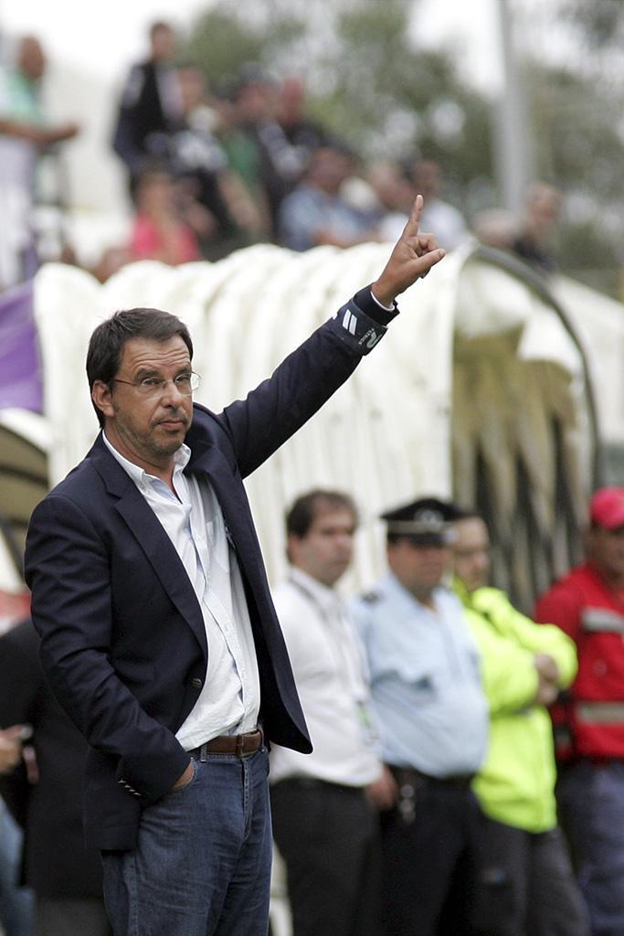 Manuel Machado: «Vitória é um pequeno avanço»