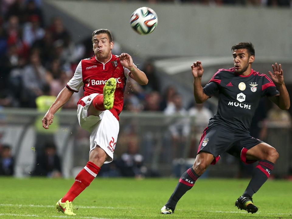 Sp. Braga-Benfica, 2-1 (destaques)