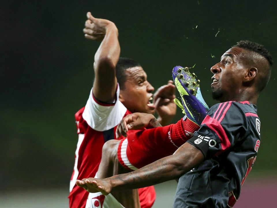 Sp. Braga-Benfica, 2-1 (resultado final)