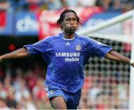 Drogba marcou o golo solitário da vitória do Chelsea sobre o Liverpool.