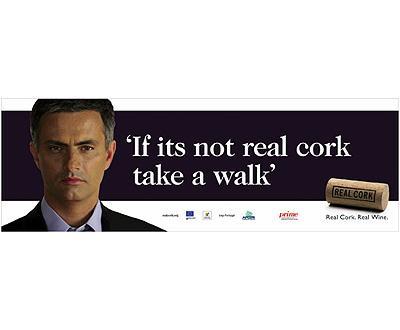 Conheça a campanha de Mourinho para promover cortiça portuguesa no Reino Unido