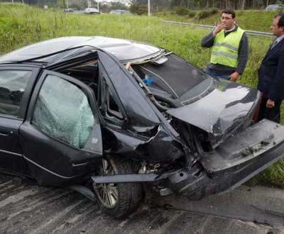 Valentim Loureiro sai ileso de acidente aparatoso perto de Leiria