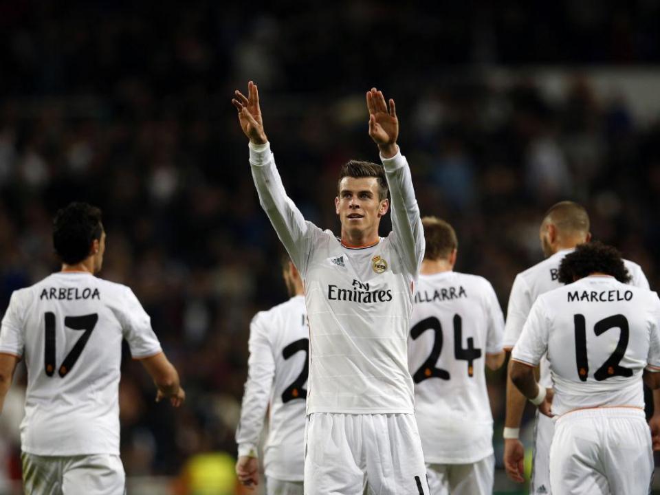 Bale sai da convocatória do Real Madrid