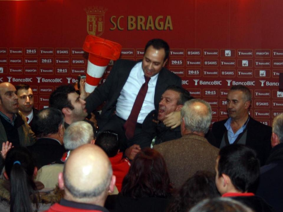Sp. Braga marca eleições para depois do final da Liga
