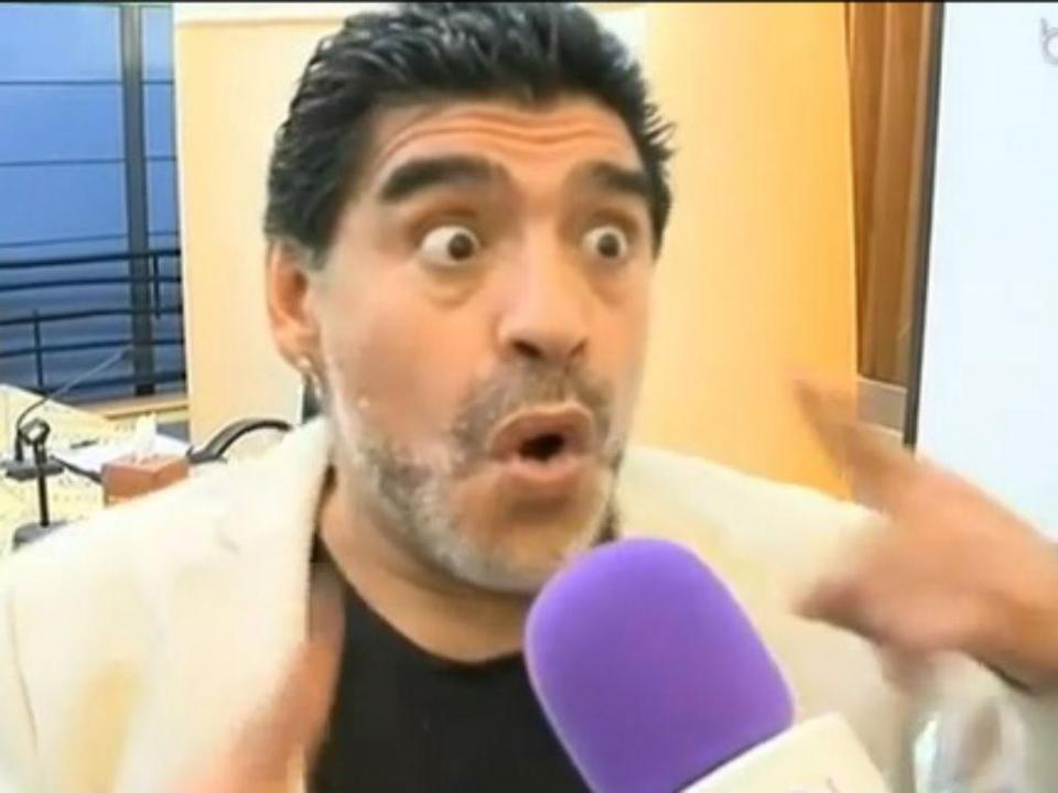 Maradona: «Sou tratado como um dos maiores criminosos do mundo»