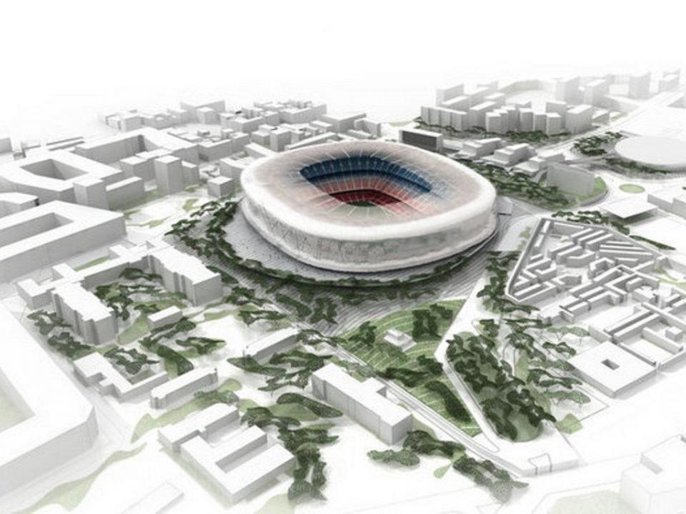 Acordo entre Barcelona e Município para melhorar áreas do Camp Nou