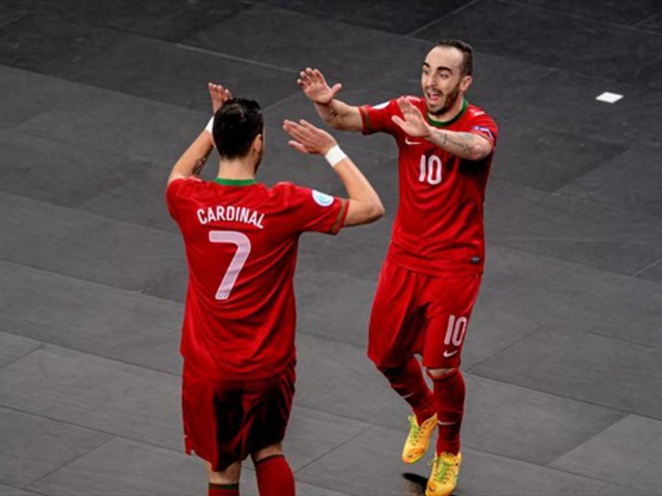 UEFA Futsal Cup: Cardinal e Ricardinho também vão à Final Four