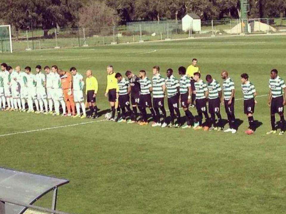 Sporting B, com Esgaio, Rabia e Slavchev, empata com a Oliveirense