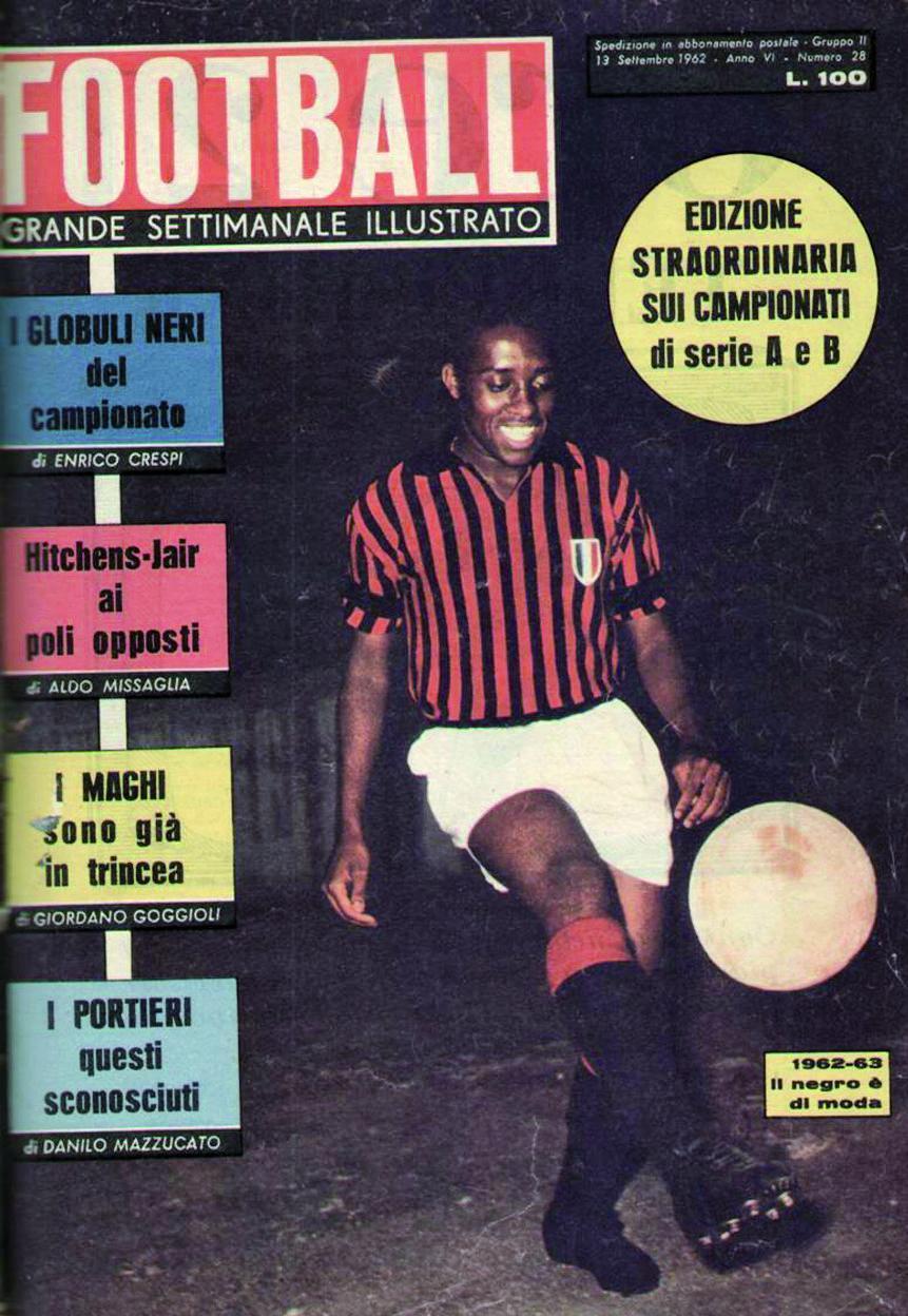 O ponta-esquerda e a «Contessa»: o romance que mudou o «calcio»