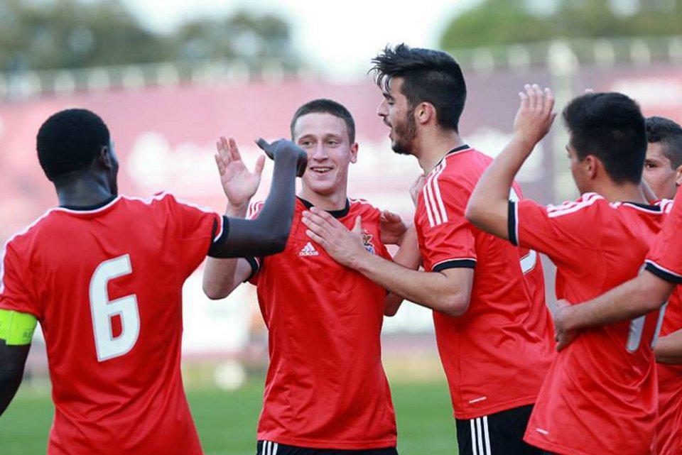 Youth League: Benfica vence no Mónaco e assume liderança