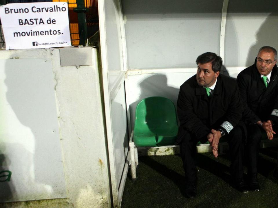 Sporting: Bruno de Carvalho promete «mexidas cirúrgicas» para a próxima época