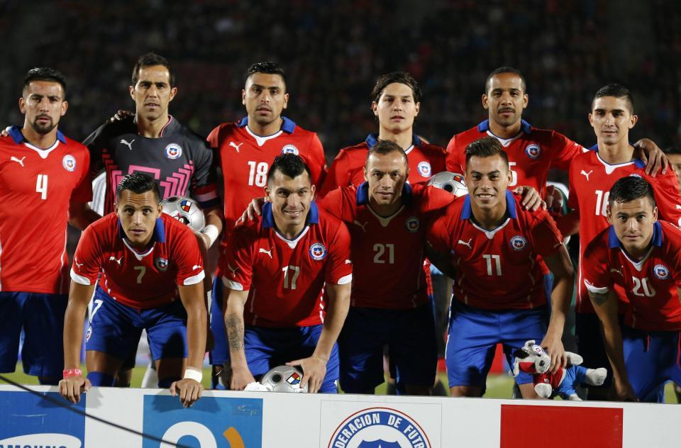 Chile: esperança e atrevimento perante adversários de respeito