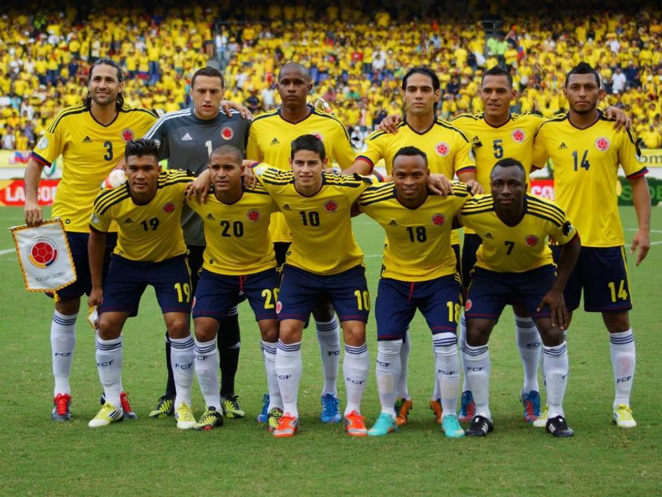 Colômbia está de volta para mostrar os seus dentes