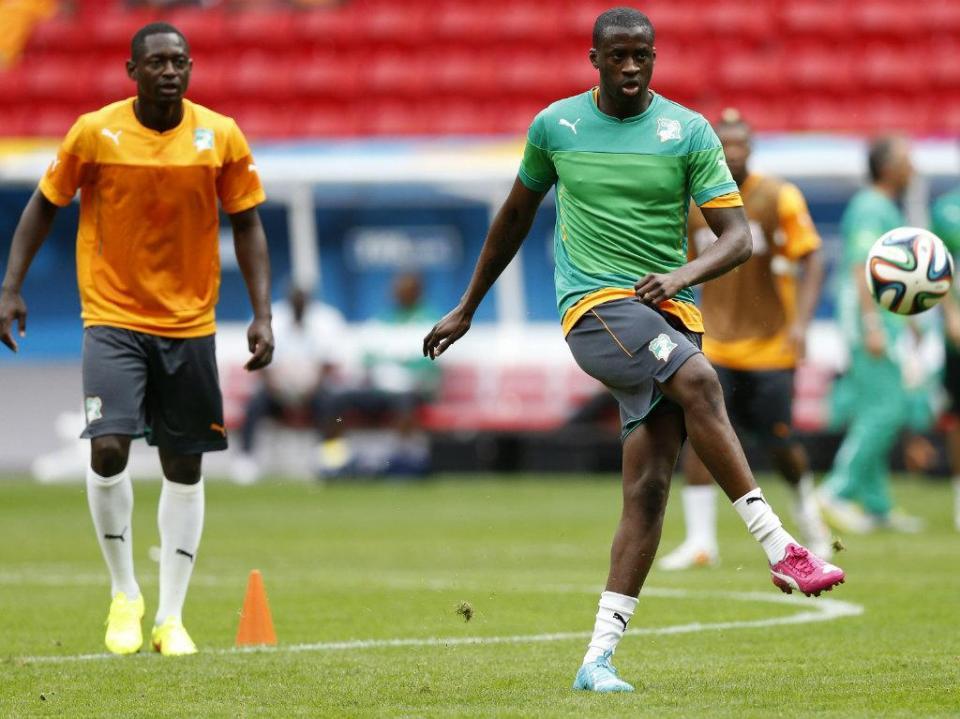 Yaya Touré anuncia regresso à seleção da Costa do Marfim