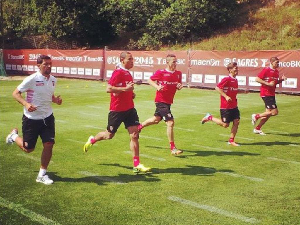 Victor Golas é a novidade no treino do Sp. Braga