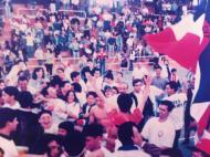 Vela Tavira: 10 junho 1993, festa em Rio Maior na subida à 1ª divisão seniores masculinos