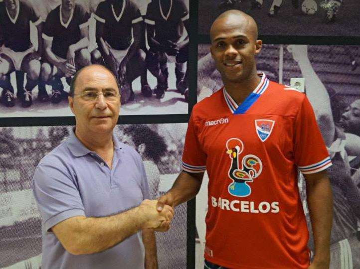 Evaldo «motivado e com a força toda» no Gil Vicente