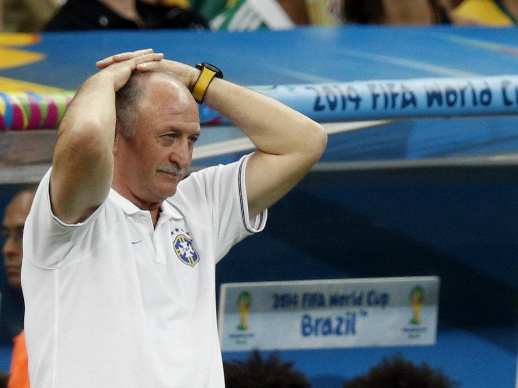 Scolari: «Não jogámos mal, estamos entre os quatro melhores do Mundo»