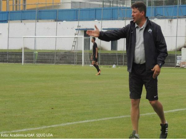 Paulo Sérgio: «Atingiremos o nível que desejamos no final da pré-época»